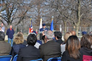 Wright Patterson Air Force Base Ceremony